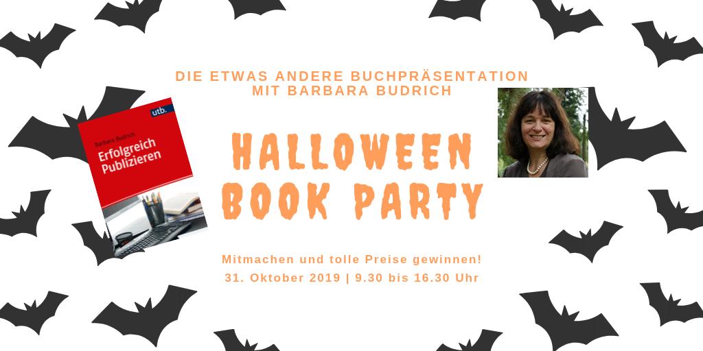 Halloween Book Party Erfolgreich publizieren
