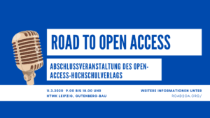 Road to Open Access HTWK Leipzig