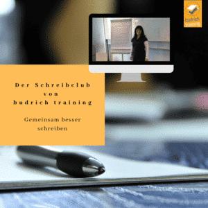 Schreibclub 2021 budrich training - gemeinsam besser schreiben