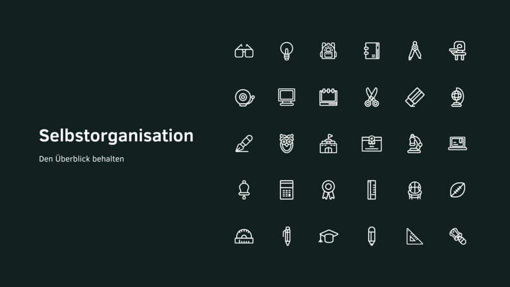 Selbstorganisation - Tools und Tipps